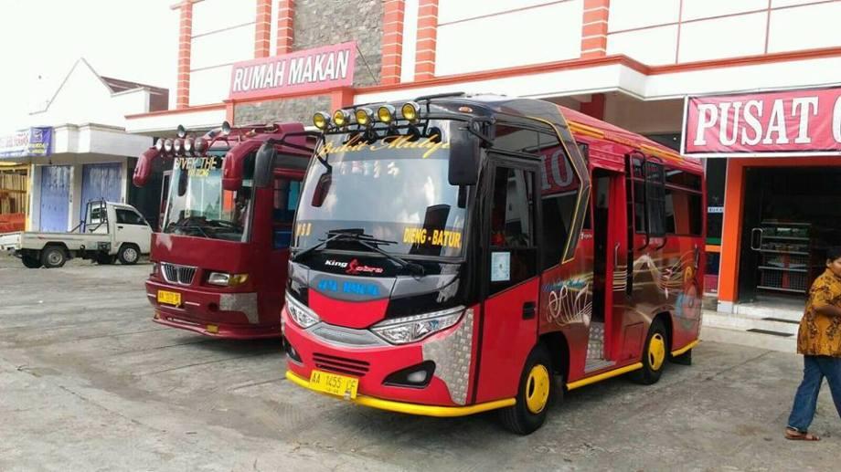 Sewa Bus Wisata Dieng